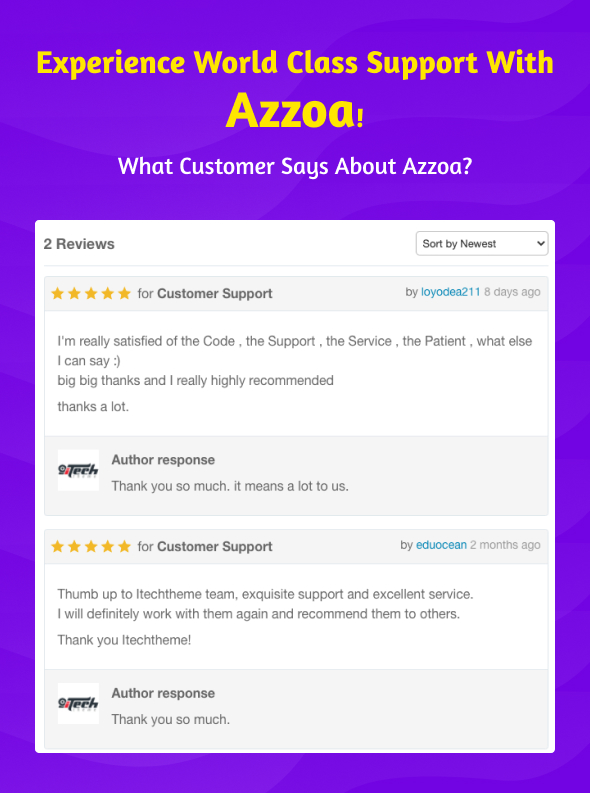 azzoa grocery customer review