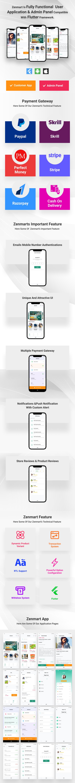 zenmart eCommence flutter app demo